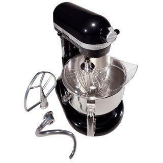 KitchenAid KL26M8XOB Onyx Black Pro Line 6 quart Stand Mixer
