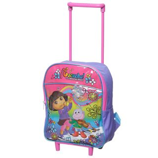 Nickelodeon Dora 12 inch Rolling Backpack