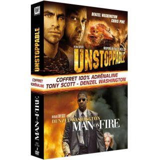 Unstoppable ; man on fire en DVD FILM pas cher