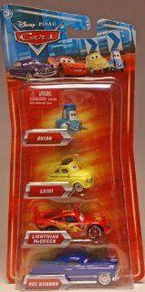 Disney / Pixar CARS Movie Exclusive 155 Die Cast 4Pack