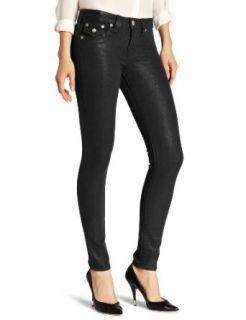 True Religion Womens Serena Glitter Coated Jean: Clothing