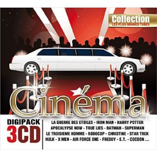 LES PLUS GRANDS TUBES CINEMA   Compilation (3CD)   Achat CD
