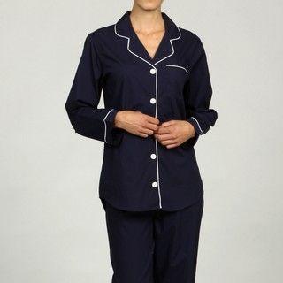 Jessica Simpson Intimates Womens Boyfrirend Pajama Sleep Shirt