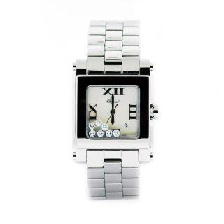 Chopard Ladies Happy Sport Diamonds Square Wrist Watch