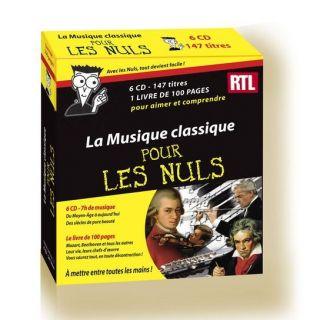 Musique Classique Pour Les Nuls   Achat CD COMPILATION pas cher