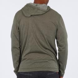 191 Unlimited Mens Green Pullover Hoodie