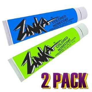 Zinka Colored Sunblock Zinc Nosecoat Bundle   Blue Green