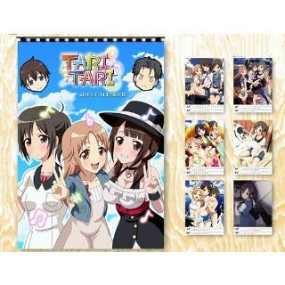 Japanese Anime TARI TARI Wall Calendar 2013 Office