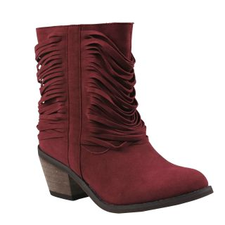 Refresh Womens Makay Fringe Western Boots Today $41.99