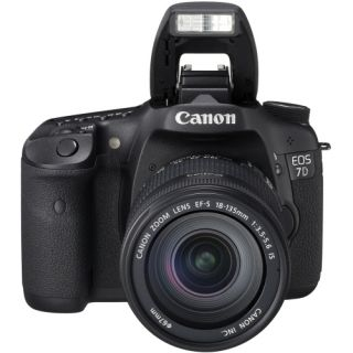 Canon EOS 7D 18MP Digital SLR Camera with 28 135mm Lens Today $1,699