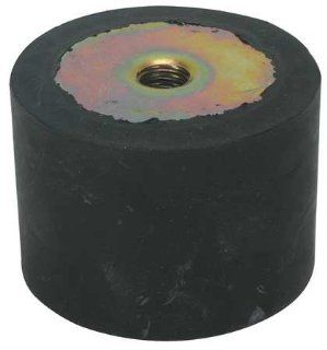 Isolators Rubber Vibration Isolator, 165 Lb Max, 3