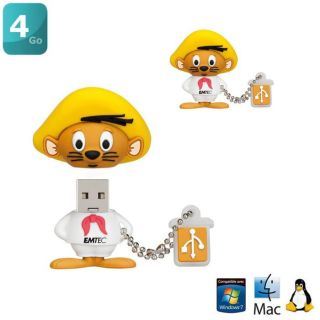 EMTEC L102 Clé USB 4Go Speedy Gonzalez   Achat / Vente CLE USB EMTEC