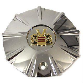 Vogue Wheels Center Cap Chrome Gold V9 # 9140 15 # 409l166
