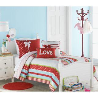 Big Believers American Sweetheart 3 piece Comforter Set