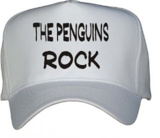 The Penguins Rock White Hat / Baseball Cap Clothing