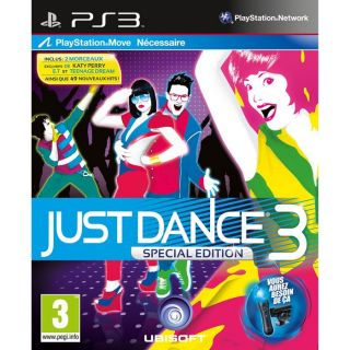 JUST DANCE 3 MOVE / Jeu console PS3   Achat / Vente PLAYSTATION 3 JUST