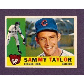 1960 Topps #162 Sammy Taylor Cubs (NM/MT): Collectibles