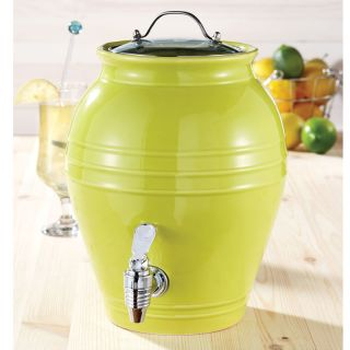 American Atelier Honey Pot Lime Twist 203 oz Beverage Dispenser