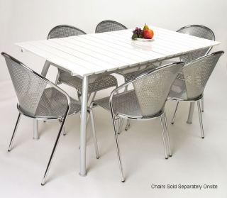 Durio White Outdoor Table
