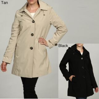 London Fog Womens Hooded Rain Coat FINAL SALE Today $48.99