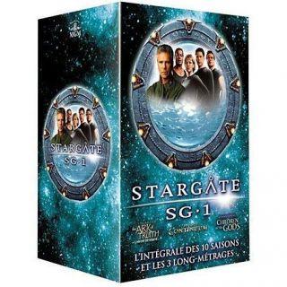 STARGATE SG 1 MEGA PACK INTEGR en DVD SERIE TV pas cher