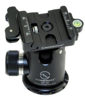 SUNWAYFOTO Lever Clamp Tripod Ball Head Arca Compatible DB