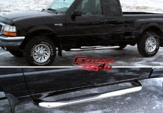 98 12 2011 2012 Ford Ranger Super Cab 2Dr S/S Nerf Step Side Bars