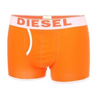 DIESEL Boxer New Breddox Homme Orange et blanc   Achat / Vente BOXER