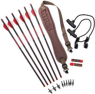 Parker Red Hot Crossbow Arrow and Accessory Kit Sports