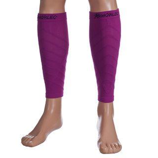 Remedy Pink Calf Compression Running Sleeve Socks