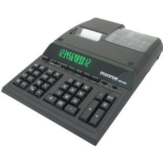 Monroe ULTIMATE Desktop 12 Digits Print/Display Calculator