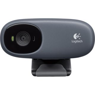 Logitech C110 Webcam   Black   USB 2.0