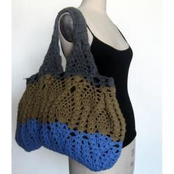 Hand woven Wool Tote Bag (Nepal)