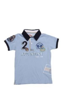 Junior Polo Shirt ARGENTINA, Color Light Blue, Size 164 Clothing