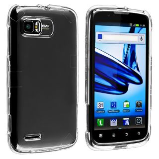 Clear Snap on Crystal Case for Motorola Atrix 2 MB865