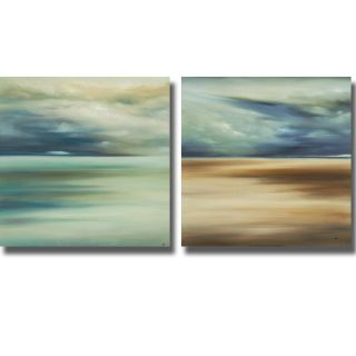 KC Haxton Scape 108 and 109 2 piece Canvas Art Set
