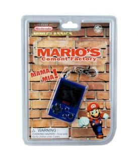 Super Mario Brothers Keychain Game