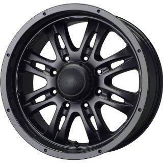 MB Wheels Gunner 8 Matte Black Wheel (20x10/8x170mm)