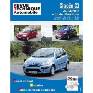 RTA 107.1 ; citroën c3 essence et diesel   Achat / Vente livre