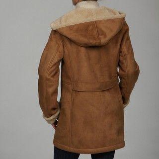 Jones New York Womens Faux fur Hooded Toggle Coat FINAL SALE