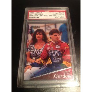 1994 Traks #171 Jeff Gordon Autographed PSA/DNA Authentic