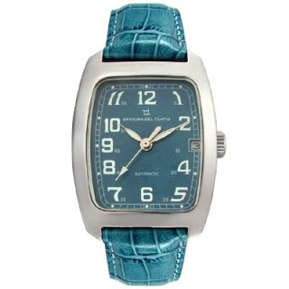Officina Del Tempo Mens Marrakech Leather watch