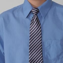 Gioberti by Boston Traveler Boys Dress Shirt and Tie Set