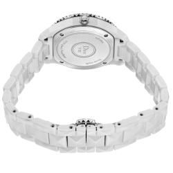 Christian Dior Womens White Eight White Ceramic Quartz Watch