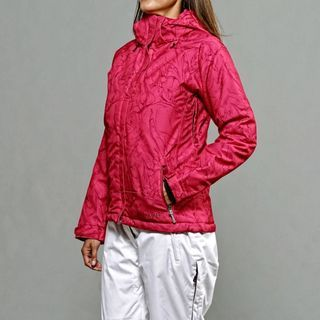 Marker Womens Curves Insulated Pink Ski Jacket