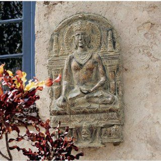 37 Asian Mediation Buddha Wall Sculpture Statue Home
