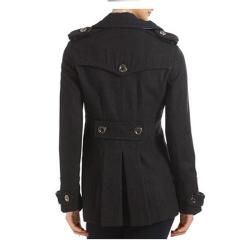 Miss Sixty Military Style Double Breasted Pea Coat