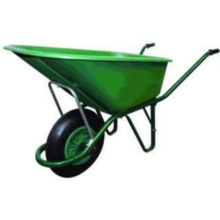 Brouette 110 litres caisse polypropylène verte Alt   Achat / Vente