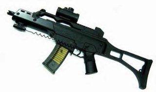 Rifle FPS 170, Scope, Laser, Open Stock Airsoft Gun