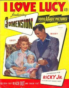 Love Lucy 3 DIMENSION Picture Story Comic Book 3D (Series 1): 3